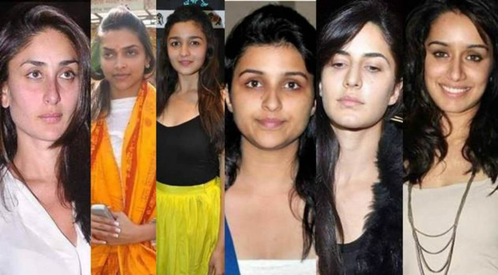 Most Beautiful Celebrities in Bollywood Without Makeup