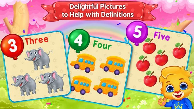 7 Best Learning apps for kids in 2021; 123 Numbers - Count & Tracing