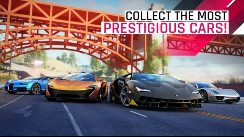 Best Vehicle driving simulator games in 2021; Asphalt 9