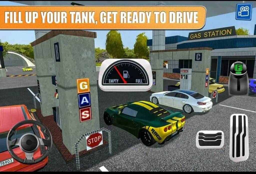 gas station 2: highway service; Best Vehicle driving Simulatior Games