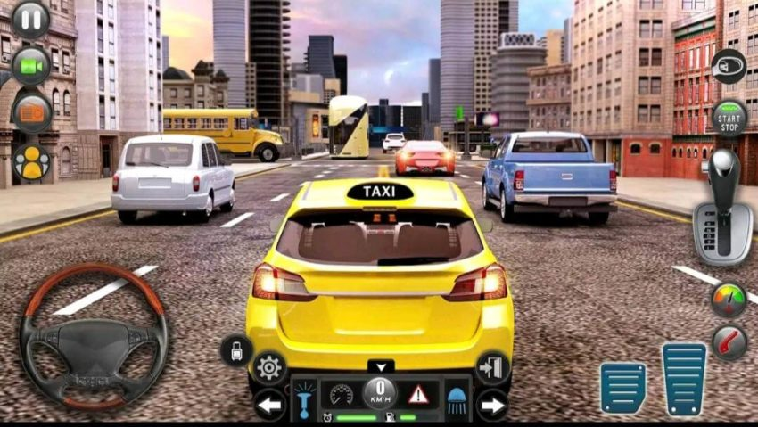 new taxi simulator- 3D car simulator; Best Driving Simulator Games in 2021