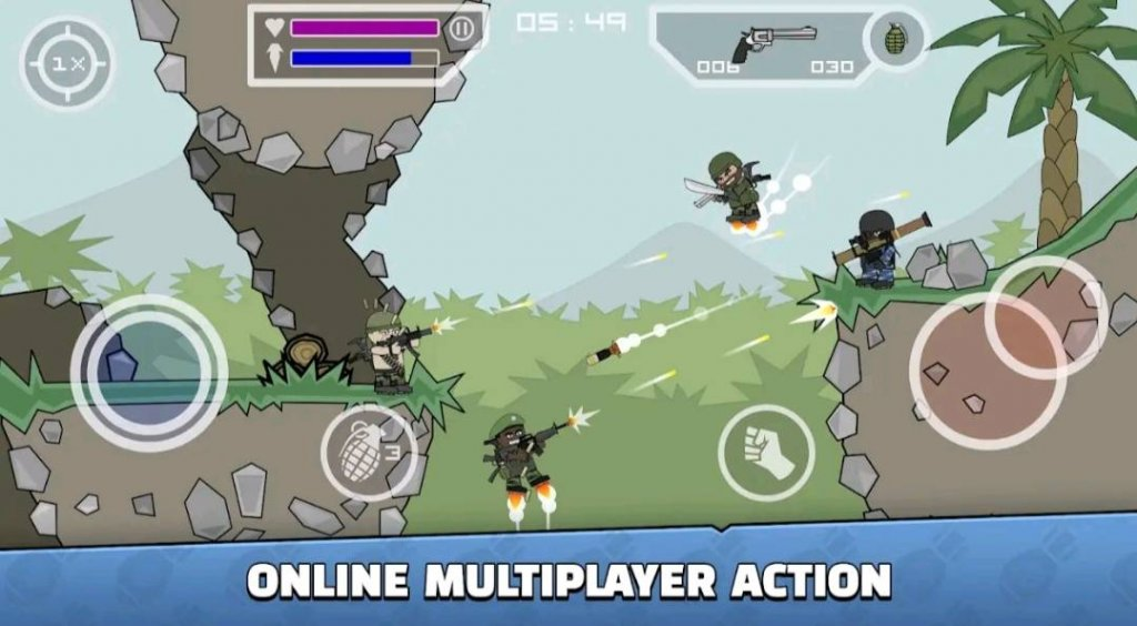 7 Best Small Size Games for Android in 2021: Mini Militia