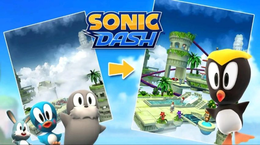 7 best cartoon games for android in 2021; Sonic Dash - Endless Running and Racing Game
