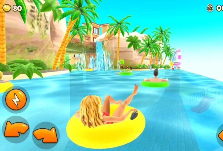 7 best cartoon games for android in 2021; Uphill Rush Water Park Racing