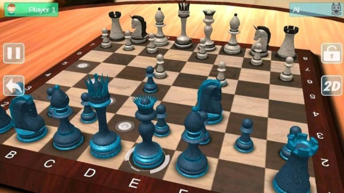 7 best chess games for Android in 2021; Chess Master 3D Free