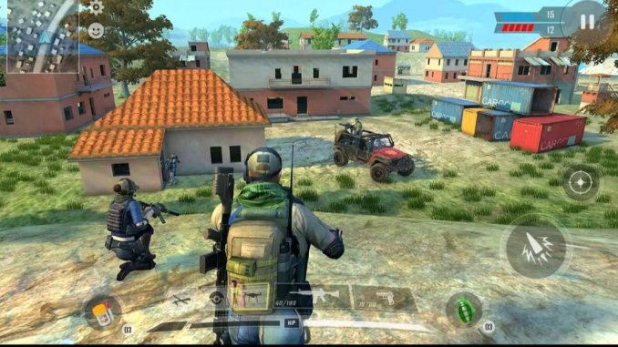 7 best war games for android in 2021; Real Commando Game