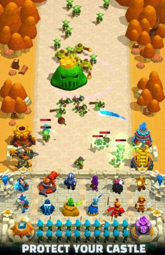 Best Strategy Games for iOS in 2021; Wild Castle TD: Grow Empire Tower Defense