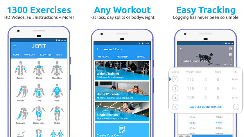 Best fitness and workout apps for android