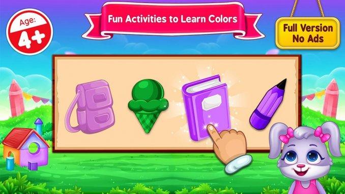 7 Best Learning Apps for kids in 2021; Colors & Shapes