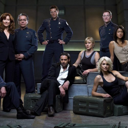 What to watch after game of thrones-Battlestar galactica