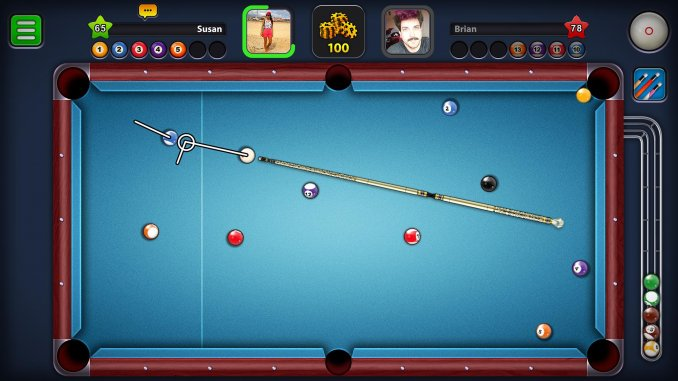 best multiplayer games for android; 8 Ball Pool