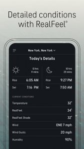 best weather apps for ios 2021; accuweather