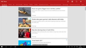 best news and magazine apps for PC; news reader for bbc