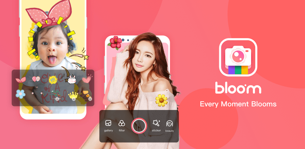 Best Android Beauty Apps- bloom camera