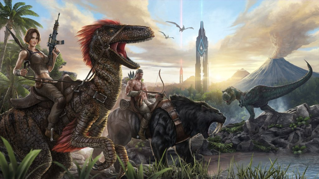 Best Graphics Games For Android - ark survival evolved