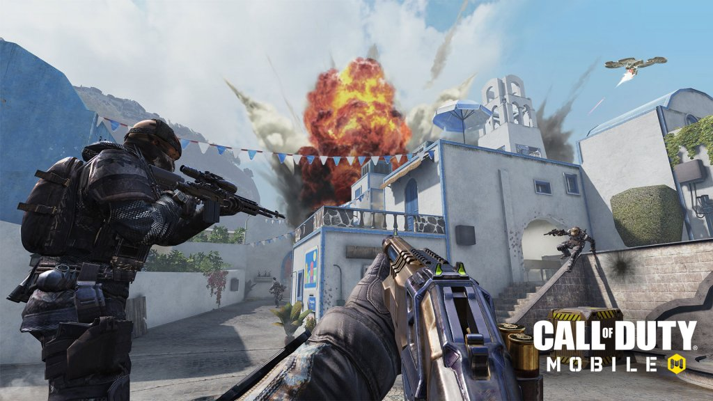 Best Graphics Games For iOS- call of duty