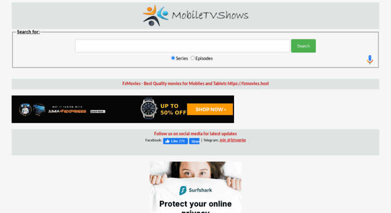 Best Sites To Download Television Series-mobiletvshows.net