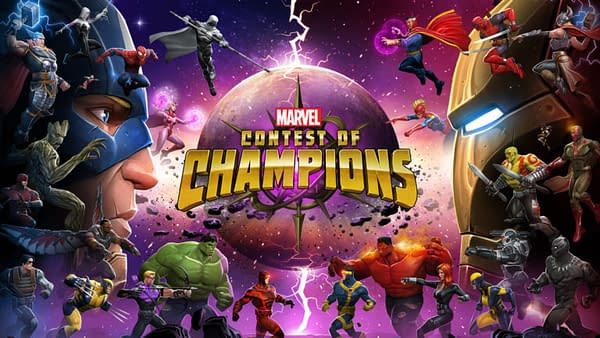 Best graphic Games for iOS - Marvel Contst Of Champions