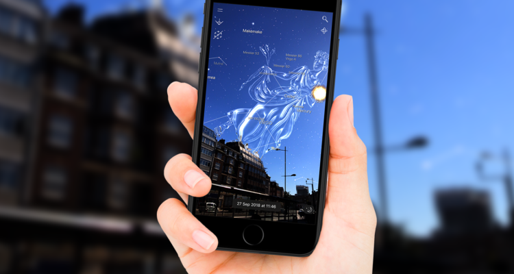 Best iOS Augmented Reality apps- nightsky