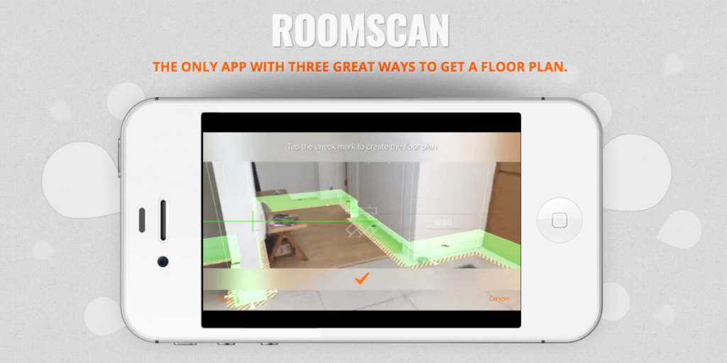 Best iOS Augmented Reality apps- roomscan-pro