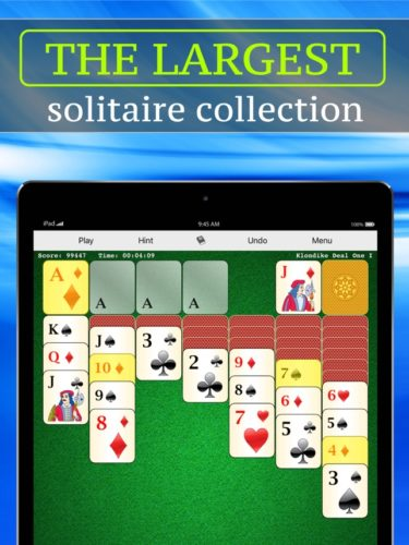 Best iOS Card Games - 700 solitaire games colection