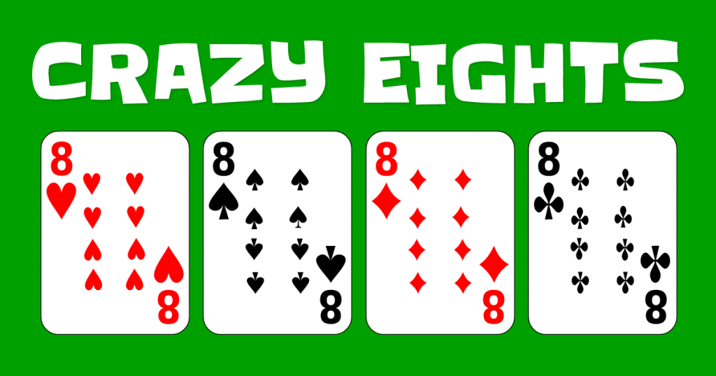 Best Card Games ; crazy eights