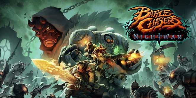 Best iOS Role-playing Games- battle chaser nighwar