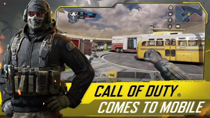 best multiplayer games for iOS 2021; Call of Duty Mobile