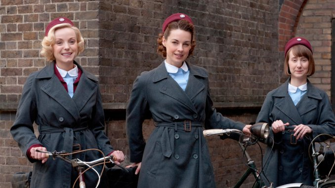 best english tv series to improve language skills; call the midwife