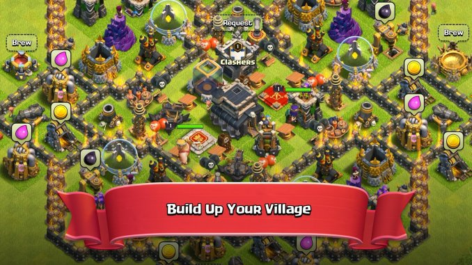 best multiplayer games for iOS 2021; Clash of Clans