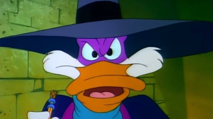 best 90s cartoon shows on Netflix; Darkwing Duck
