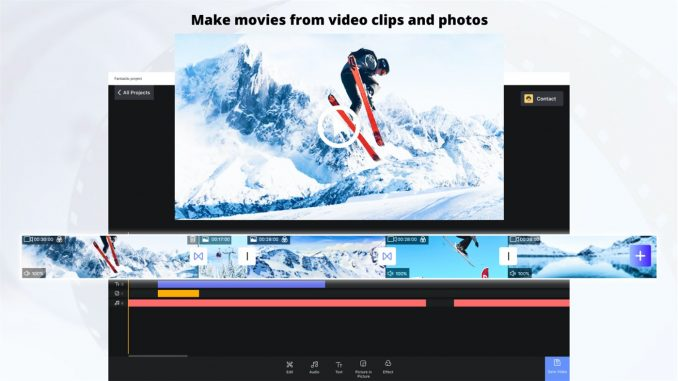 Best Video Editing apps for PC 2021; FilmForth