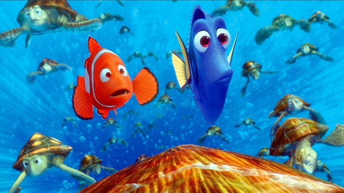 most entertaining movies in the world; Finding Nemo