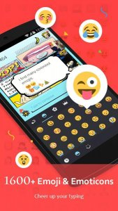 best personalization apps for android 2021; GO Keyboard - Emoji, Sticker