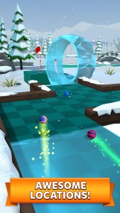 best multiplayer games for android; Golf Battle