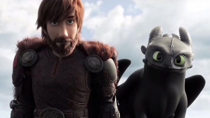 most entertaining movies in the world; How to train your dragon 3