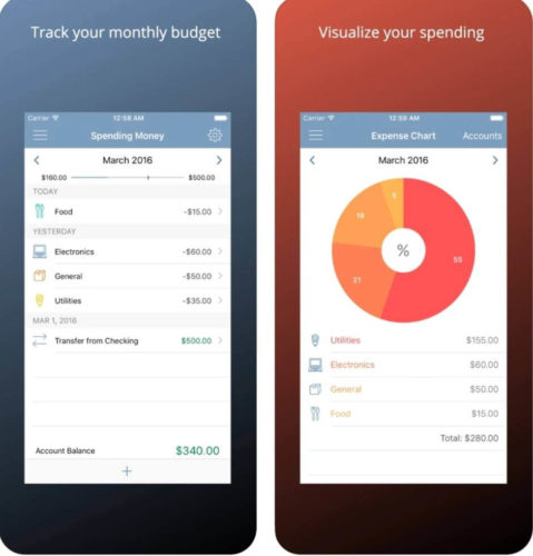 Top 7 budgeting apps for iOS 2021; Expense Keep