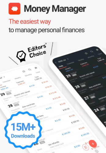 Best Budgeting Android Apps 2021; Money Manager Expense and Budget