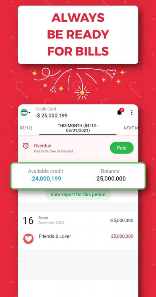 Best Budgeting Android Apps 2021; Money Lover