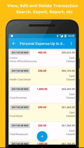 Best Budgeting Android Apps 2021; Expense Manager