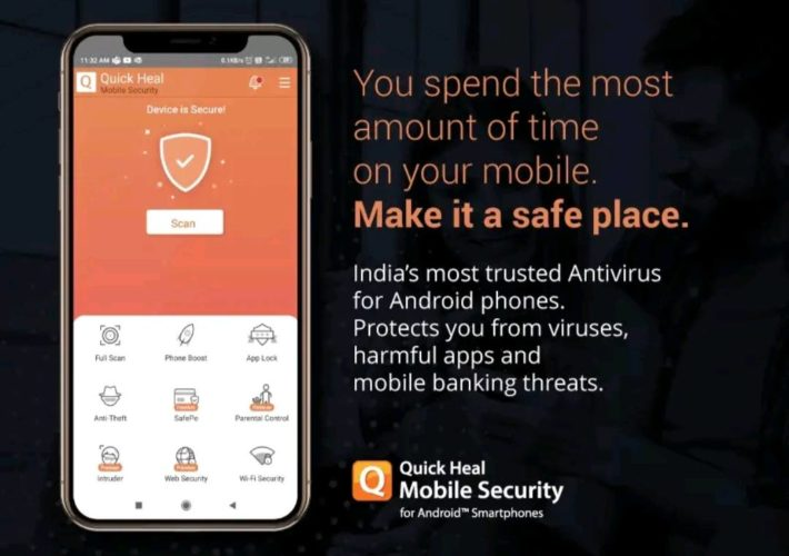 Best antivirus apps for Android 2021; quick heal app