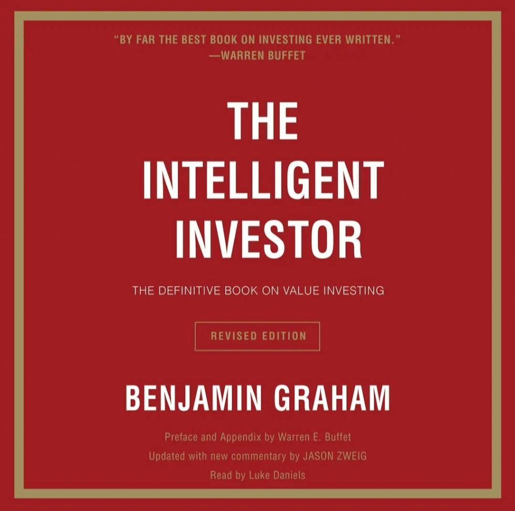 Top-selling google play audiobooks 2021; The Intelligent Investor