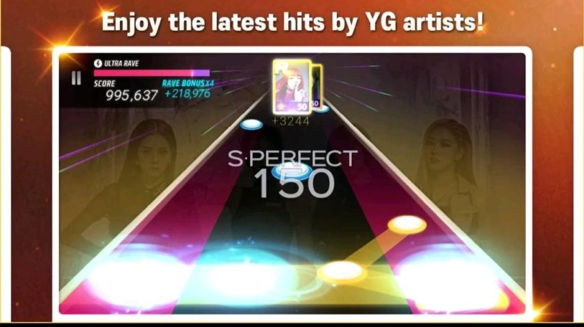 Best music games for Android 2021; Superstar YG