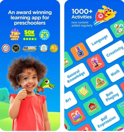Best educational games for iOS 2021; Kiddopia
