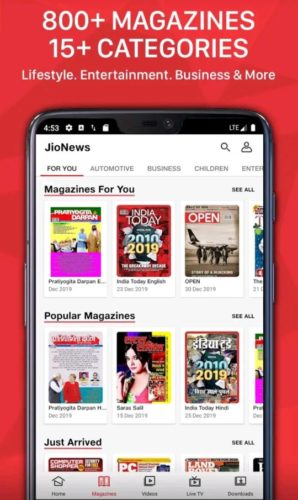 Best news and magazine apps for Android 2021; jionews