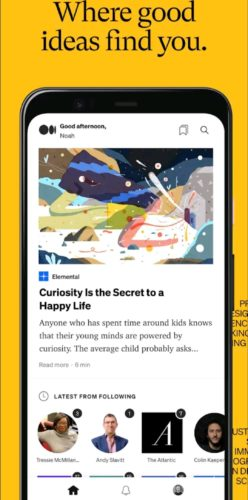 Best news and magazine apps for Android 2021; medium