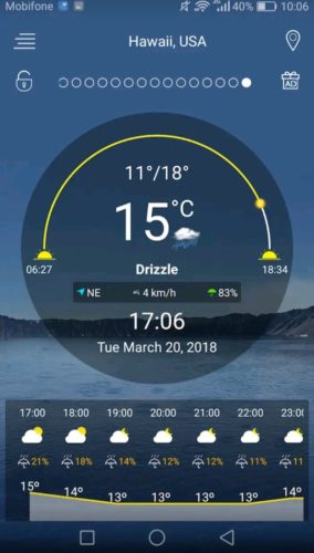 Best Weather Apps for Android 2021; Weervoorspelling