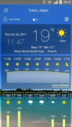 Best Weather Apps for Android 2021; Weather - by smart-pro android apps