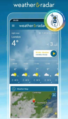 Best Weather Apps for Android 2021; Weather & Radar