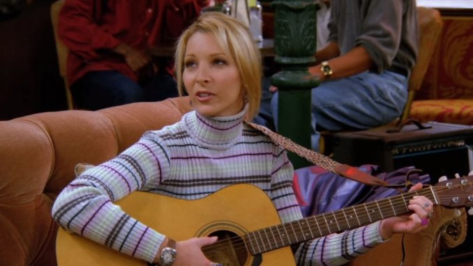most interesting facts about the Friends TV Series; Lisa Kudrow Couldn't Learn Guitar